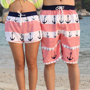 Anchor Lovers Beach Shorts