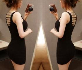 Halter Sexy Slim Vest Dress