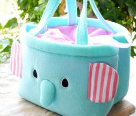 Cute Elephant Bag Lunch Box